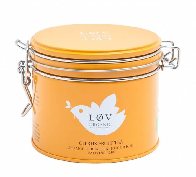 LØV organic, citrus fruit tea