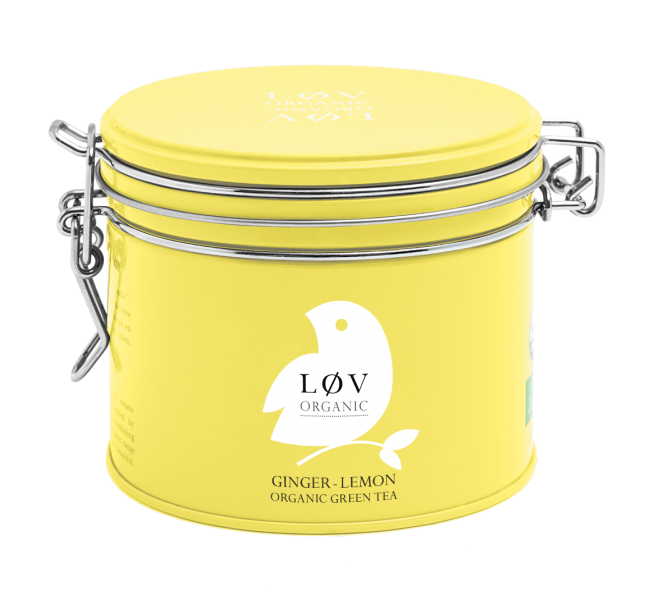 LØV organic, ginger lemon